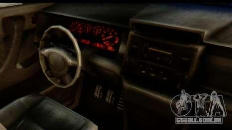 GTA 5 Vapid Sandking SWB IVF para GTA San Andreas traseira esquerda vista