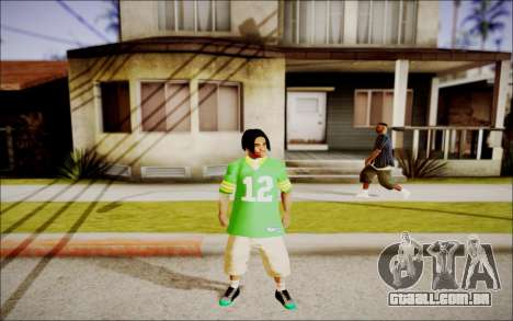 Ghetto Skin Pack para GTA San Andreas oitavo tela