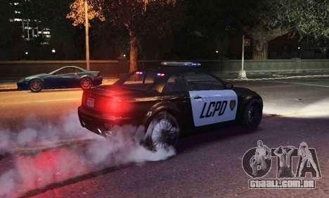 GTA V Ubermacht Sentinel Police [ELS] para GTA 4 vista direita
