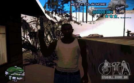 HUD by Weezy para GTA San Andreas terceira tela