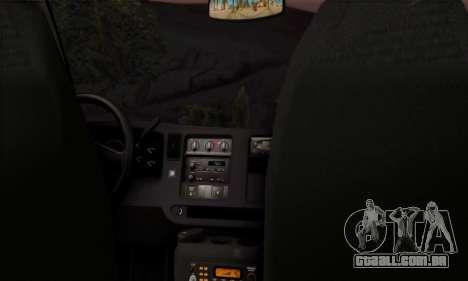 Chevrolet Exspress Ambulance para GTA San Andreas vista direita