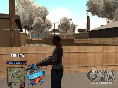 C-HUD Coração para GTA San Andreas sétima tela