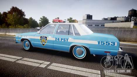 Ford Fairmont 1978 Police v1.1 para GTA 4 esquerda vista