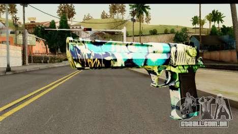 Grafiti Desert Eagle para GTA San Andreas