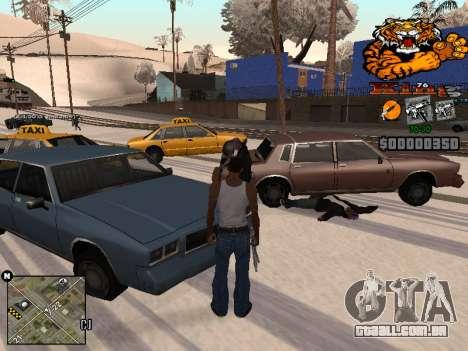 C-HUD King para GTA San Andreas terceira tela