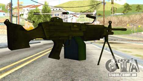 M16 from Global Ops: Commando Libya para GTA San Andreas segunda tela