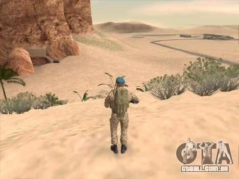 Granadeiro de tropas aerotransportadas da Federa para GTA San Andreas quinto tela