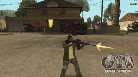 M4 из Killing Floor para GTA San Andreas segunda tela
