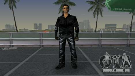 Tommi Black Skin para GTA Vice City terceira tela