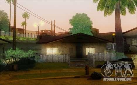 SA_nVidia: Capturas De Tela, Edição De para GTA San Andreas quinto tela