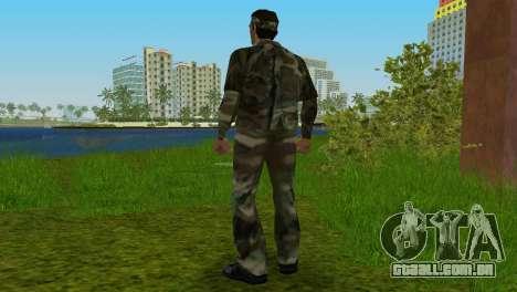 Original VC Camo Skin para GTA Vice City por diante tela