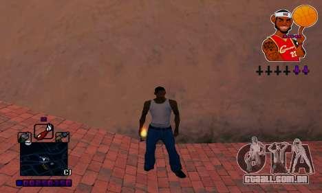 C-HUD Basketball para GTA San Andreas