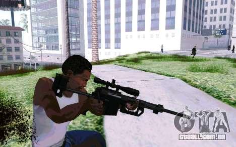 Cheytac M200 Black para GTA San Andreas terceira tela