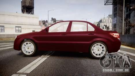 Iran Khodro Dena para GTA 4 esquerda vista