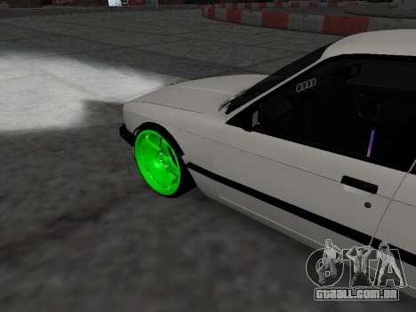 BMW M3 E30 Drift para GTA San Andreas vista direita