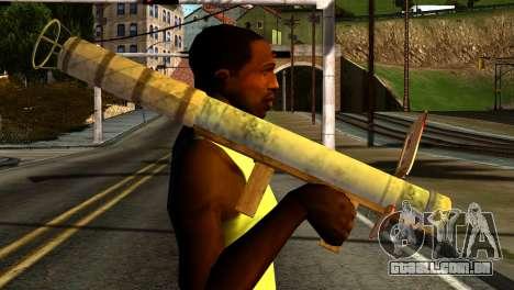 Firework Launcher from GTA 5 para GTA San Andreas