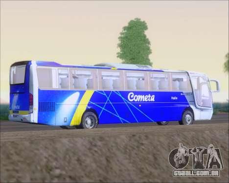 Busscar Vissta Buss LO Cometa para GTA San Andreas vista traseira