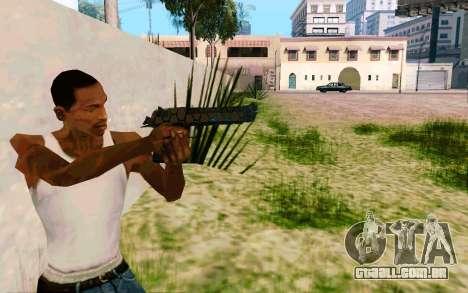 Desert Eagle (Dodgers) para GTA San Andreas terceira tela