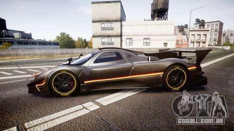 Pagani Zonda Revolution 2013 para GTA 4 esquerda vista