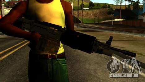 Combat MG from GTA 5 para GTA San Andreas terceira tela