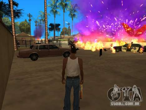 Fagot Funny Effects 1.1 para GTA San Andreas