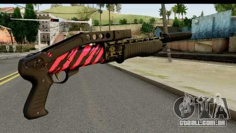 Red Tiger Combat Shotgun para GTA San Andreas segunda tela
