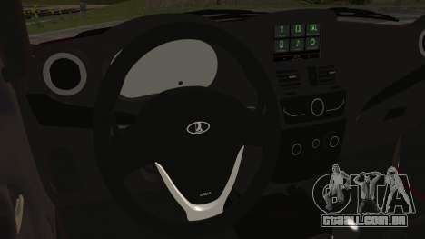 Lada Kalina R2 para GTA San Andreas vista direita