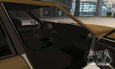 Renault 18 para GTA San Andreas interior