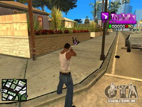 C-HUD Ballas by Inovator para GTA San Andreas