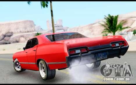Chevrolet Impala para GTA San Andreas esquerda vista