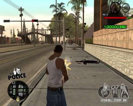 C-HUD by Jim para GTA San Andreas