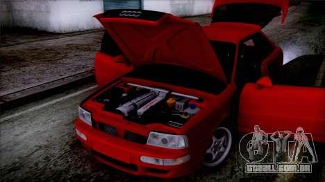 Audi RS2 Coupe para GTA San Andreas vista traseira