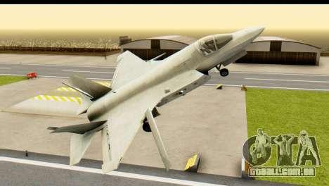 F-35B Lightning II Hatsune Miku Version para GTA San Andreas vista direita