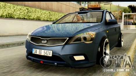Kia Ceed para GTA San Andreas