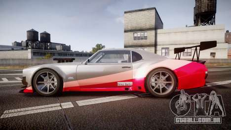 Declasse Sabre GT-R para GTA 4 esquerda vista