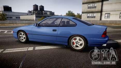 BMW E31 850CSi 1995 [EPM] para GTA 4 esquerda vista