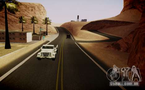 Fourth Road Mod para GTA San Andreas por diante tela