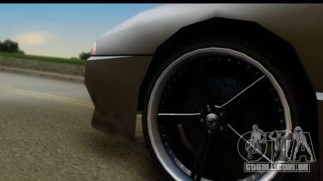 New Elegy Editons para GTA San Andreas vista traseira