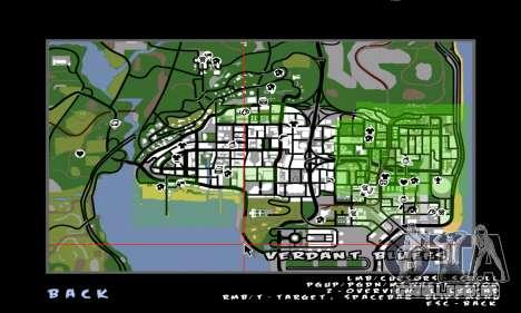 C-HUD Ballas para GTA San Andreas terceira tela