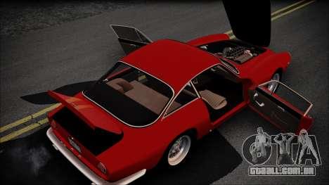 Ferrari 250 GT Berlinetta Lusso 1963 [ImVehFt] para GTA San Andreas vista interior
