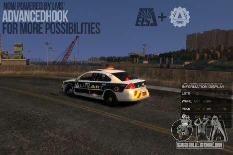 Emergency Lights System v8 [ELS] para GTA 4 terceira tela