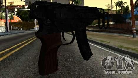 New Tec9 para GTA San Andreas segunda tela