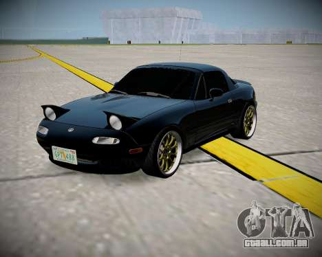 Mazda MX-5 JDM para GTA San Andreas esquerda vista