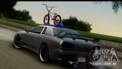New Elegy Editons para GTA San Andreas esquerda vista