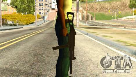 UMP45 from Global Ops: Commando Libya para GTA San Andreas terceira tela