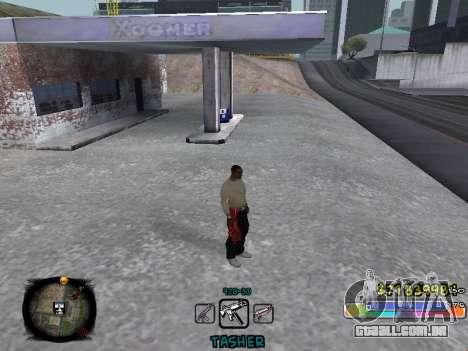 C-HUD Color Tasher para GTA San Andreas segunda tela