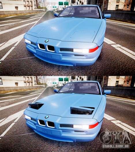 BMW E31 850CSi 1995 [EPM] para GTA 4