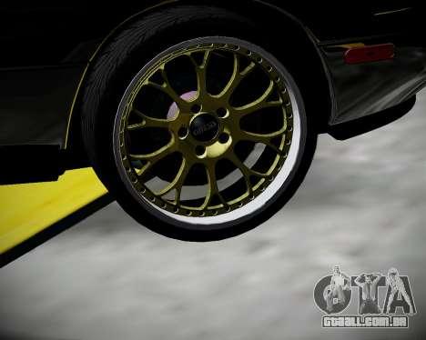 Mazda MX-5 JDM para GTA San Andreas vista traseira