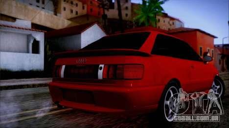 Audi RS2 Coupe para GTA San Andreas esquerda vista
