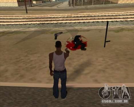 Configurações De Ragdoll para GTA San Andreas terceira tela